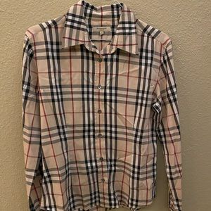 Authentic Women's Burberry London Button Down!